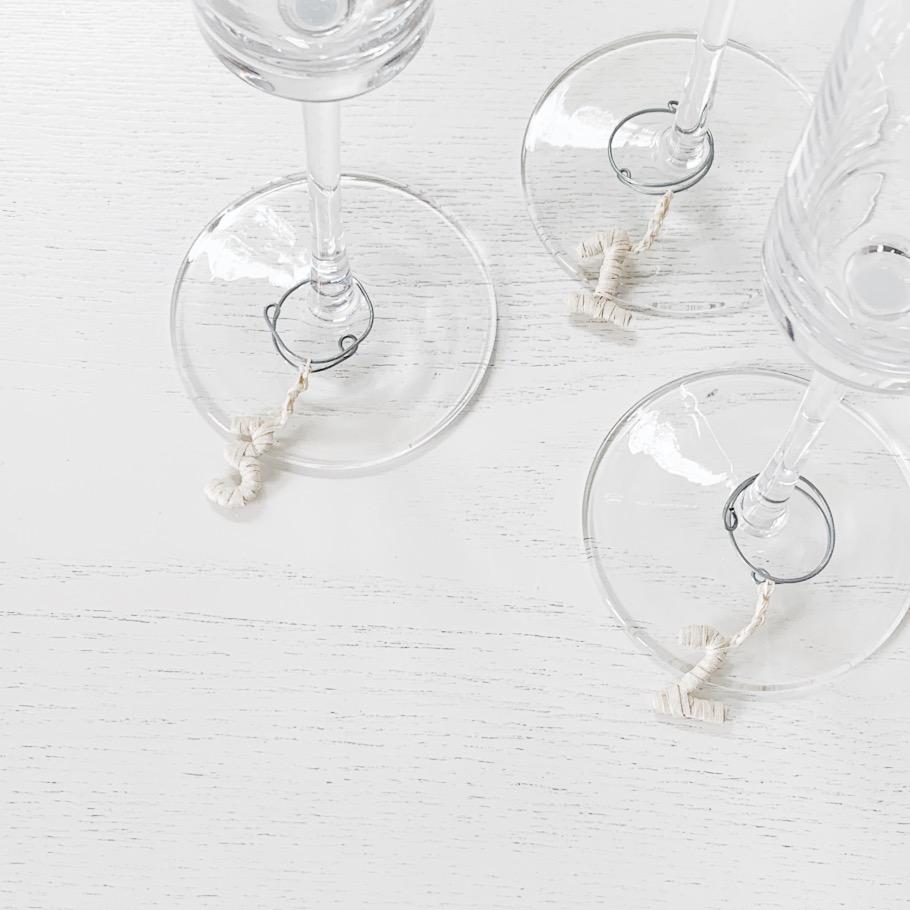Duna Handmade Glass Marker Set